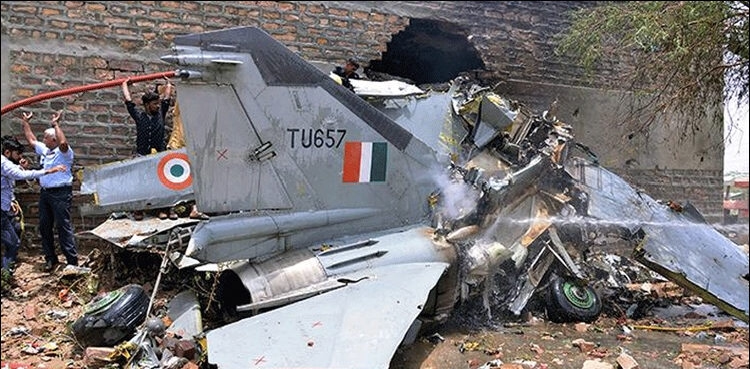 Indian Air Force (IAF) lost 20 aircraft in crashes since 2016