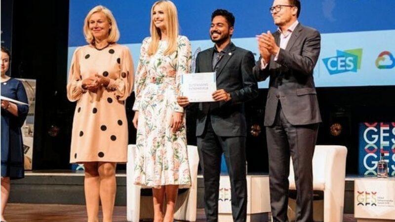 Pakistani healthcare startup wins award  in US