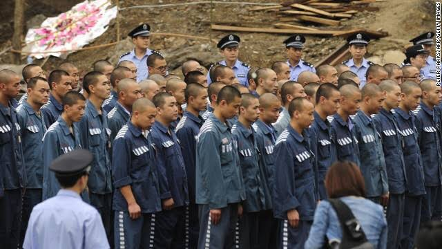 Prisoners in China being killed for forced organ harvesting