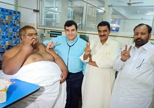 Man weighing 330 kg passes away after successful surgery