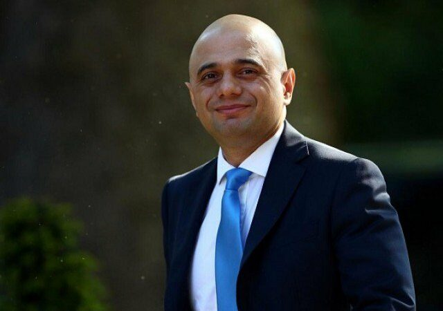 Pakistani-origin Sajid Javid appointed UK finance minister