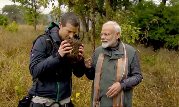 Indian PM Modi to appear on Bear Grylls' Man vs Wild
