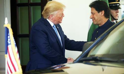 President Trump warmly welcome PM Imran Khan to White House