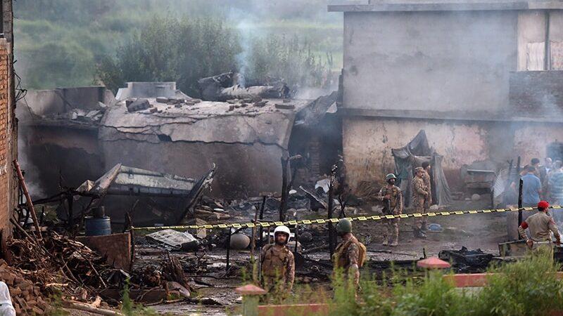 Army plane on routine patrol crashes near Rawalpindi
