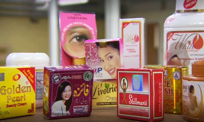 56 out of 59 skin whitening creams used in Pakistan highly toxic