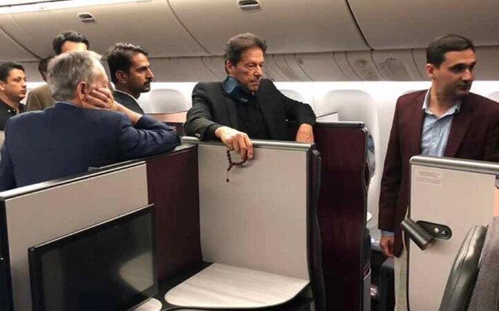 PM Imran continues austerity drive, travels on commercial flight
