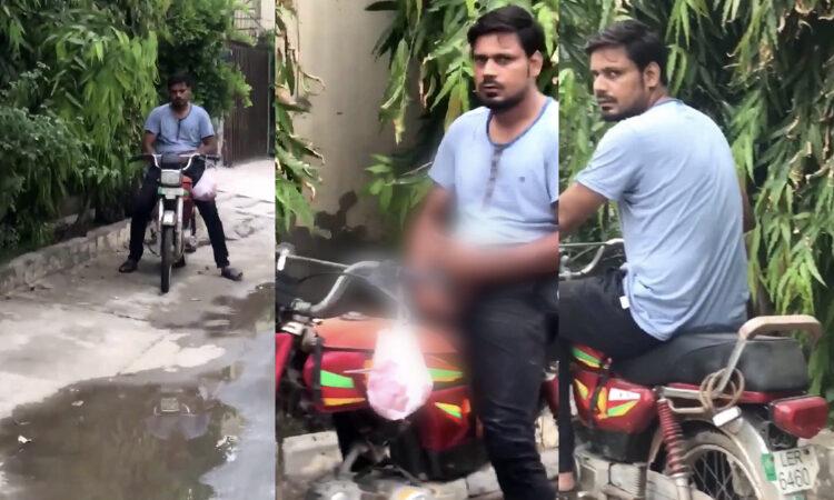 Man caught on video masturbating, harassing girls in Lahore