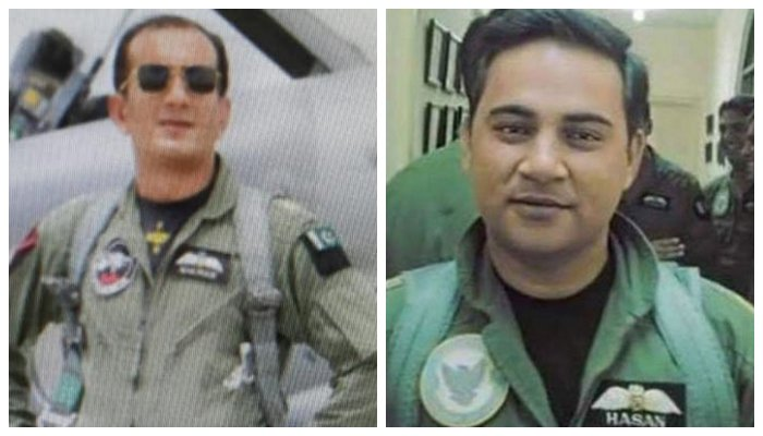 PAF pilots awarded with military medals for downing Indian jet