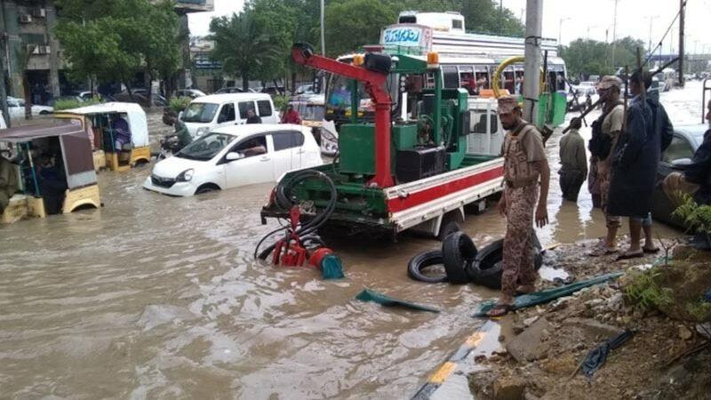 Karachi drowns in misery as heavy monsoon rain wrecks havoc