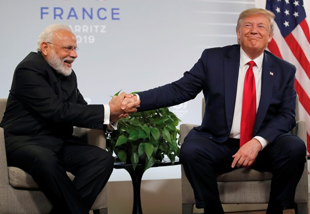 Pakistan and India can handle Kashmir issue on their own, says Donald Trump