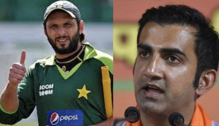 Shahid Afridi and Gautam Gambhir involved in another Twitter spat