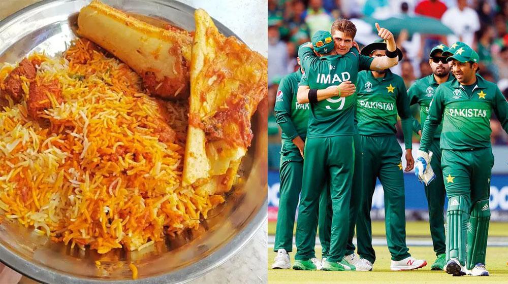No biryani and daal chawal for Pakistani cricketers