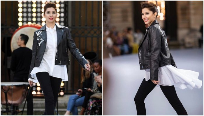 Mahira Khan rocks the ramp at Paris Fashion Week