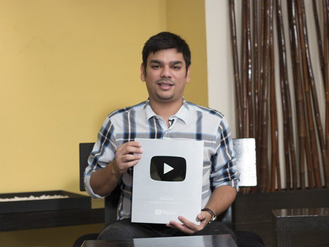 Pakistani tech vlogger gets Youtube's Silver Play Button
