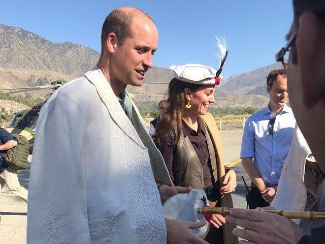 Royal couple visits Chitral to address issue of climate change