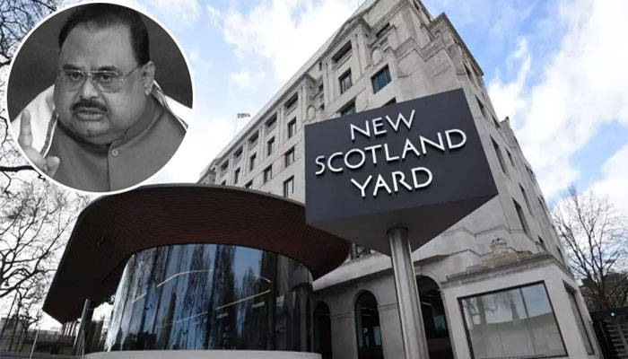 Scotland Yard charges Altaf Hussain for 'encouraging terrorism' in Karachi in 2016