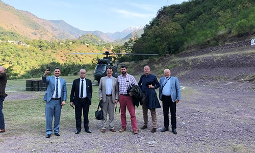 Foreign diplomats visit 'terror launch pads' in AJK to debunk claims of Indian Army
