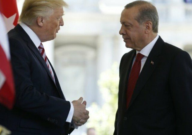 Trump threatens to 'totally destroy and obliterate' Turkey's economy
