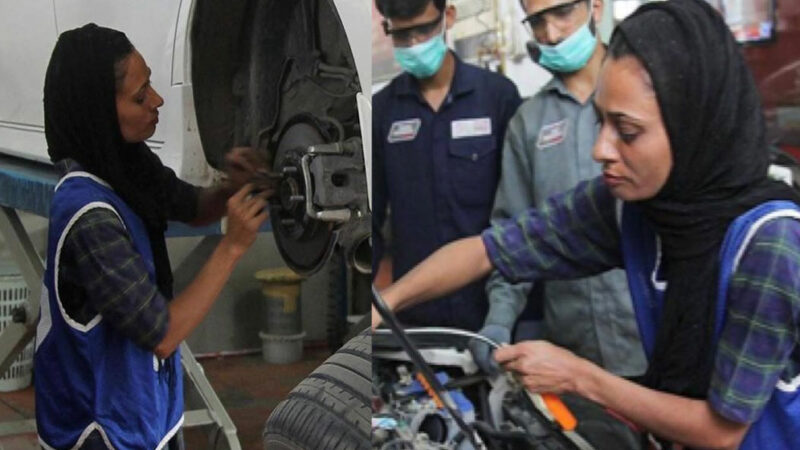 This female mechanic can diagnose a car's issue just by its sound