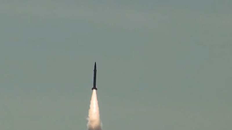 Pakistan army conducts successful training launch ballistic missile Shaheen-I: ISPR