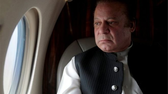 Not possible to return to Pakistan and surrender, Nawaz Sharif informs IHC