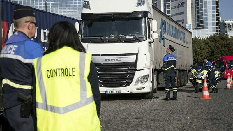 Pakistani migrants found in a lorry in France