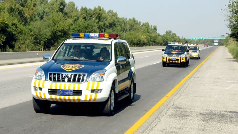 New fines ranging from min Rs. 750 to Rs. 10,000 put in place on Motorways