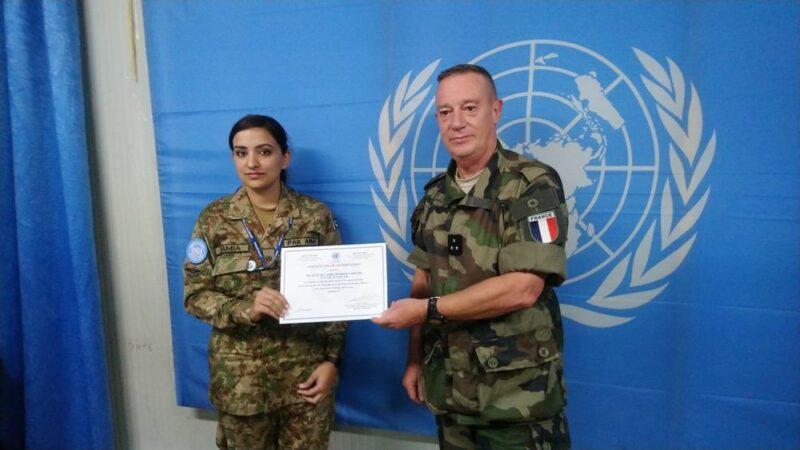Pakistan's Major Samia Rehman wins UN's SRSG certificate of the year