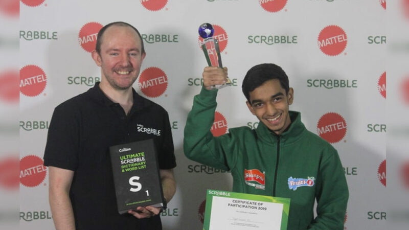 Imad Ali becomes youngest ever junior World Scrabble Champion
