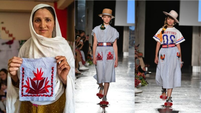 Chitral stole the show at this year's Milan Fashion week