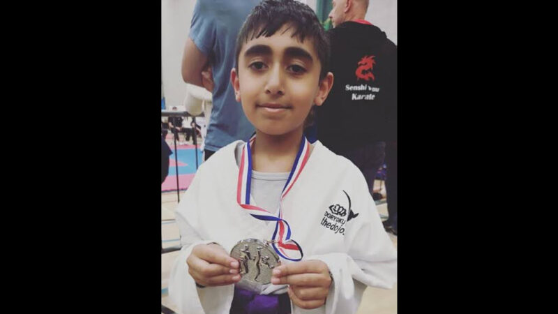 8-year-old becomes the youngest to win big at Martial Arts Championship