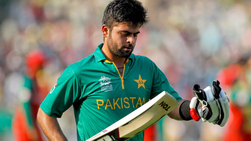 Ahmed Shehzad charged with ball tampering