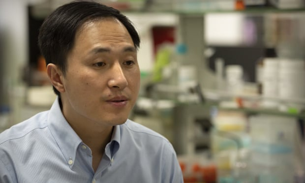 Chinese scientist jailed for creating gene-edited babies