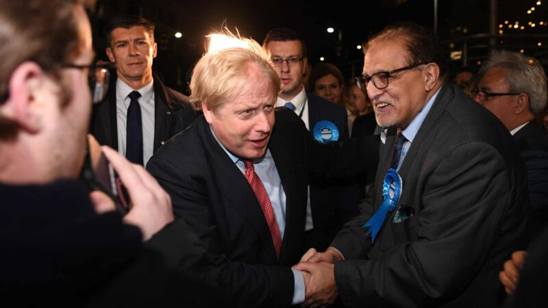 Boris Johnson on course of historic win in U.K general election