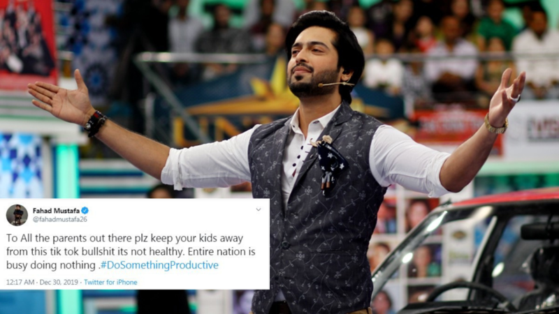 Twitter calls Fahad Mustafa hypocrite for slamming TikTok