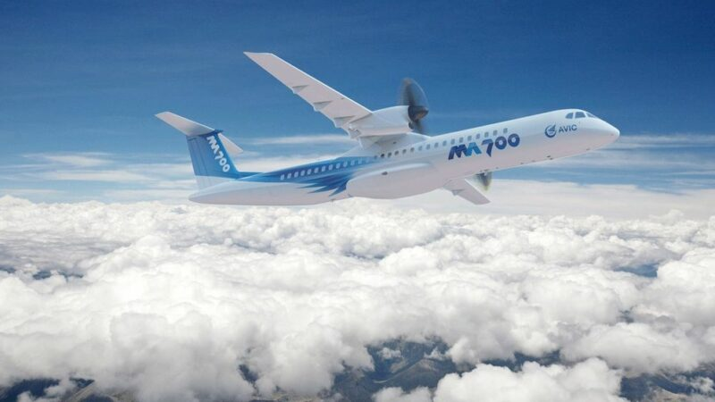 Pakistan to buy MA700 Turboprop aircraft from China