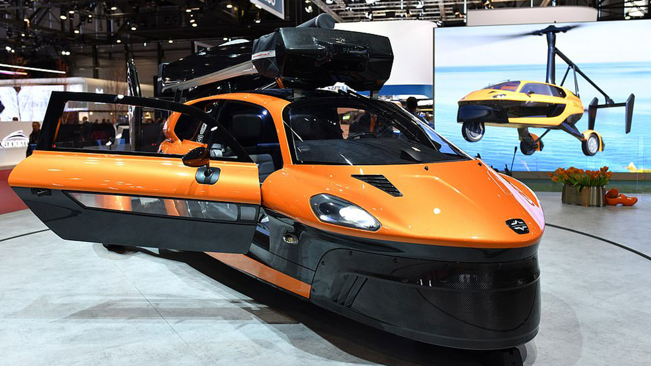 """World's first """"Fly and Drive"""" car is here"""