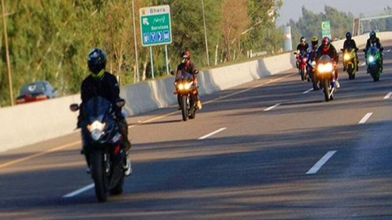 Failure to implement decision to allow heavy bikes on motorways
