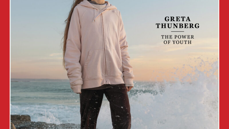 Teen climate change activist, Greta Thunberg, named Time person of the year