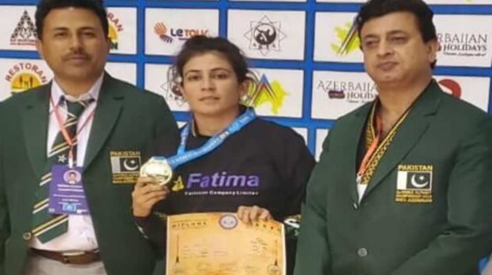 Arwa Afridi wins 2 gold medals at World Alpagut Championship