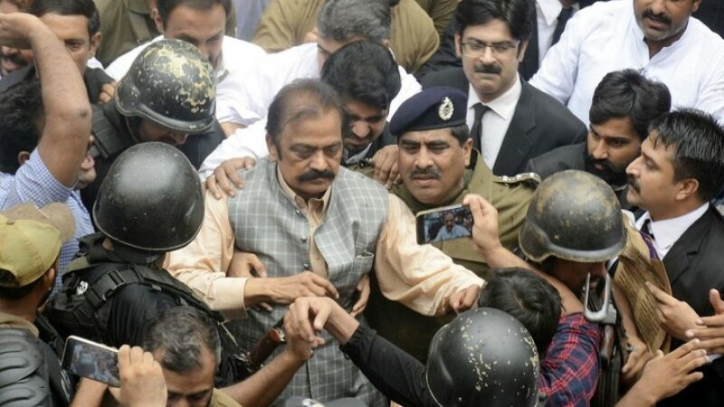 Sanaullah granted bail because of 'lapses in prosecution's case'