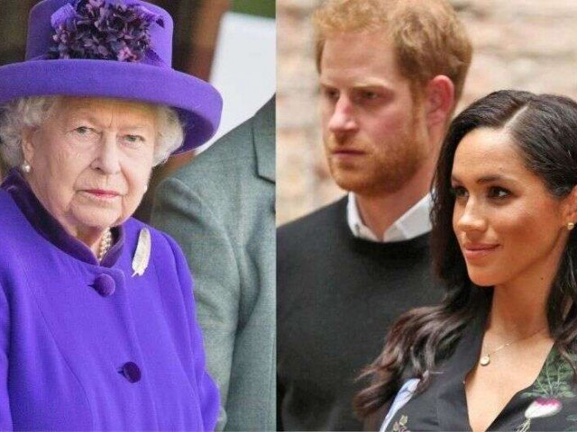 Queen shows support for Harry and Meghan's decision to become financially independent