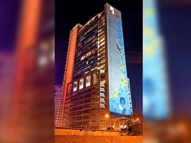 World's tallest mural in Karachi serves as a cry of alarm for environment