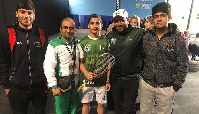 Pakistan's Hamza Khan wins British Junior Open 2020