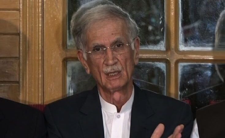KP ministers fired over disciplinary violation: Pervez Khattak