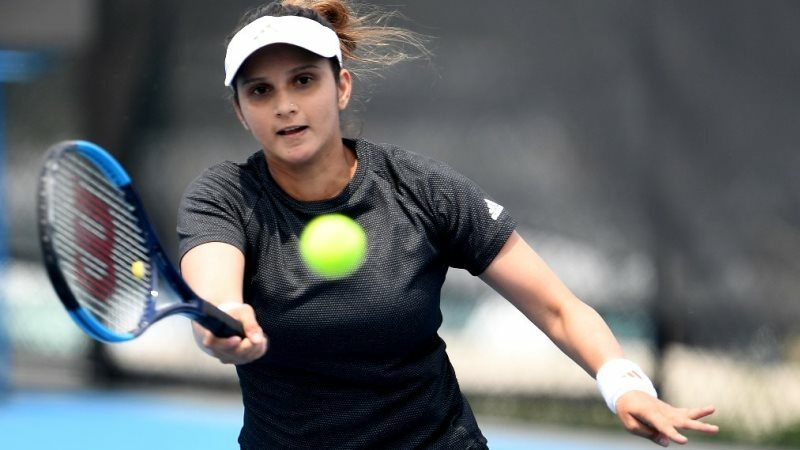 Sania Mirza marks return with win after two-year maternity leave