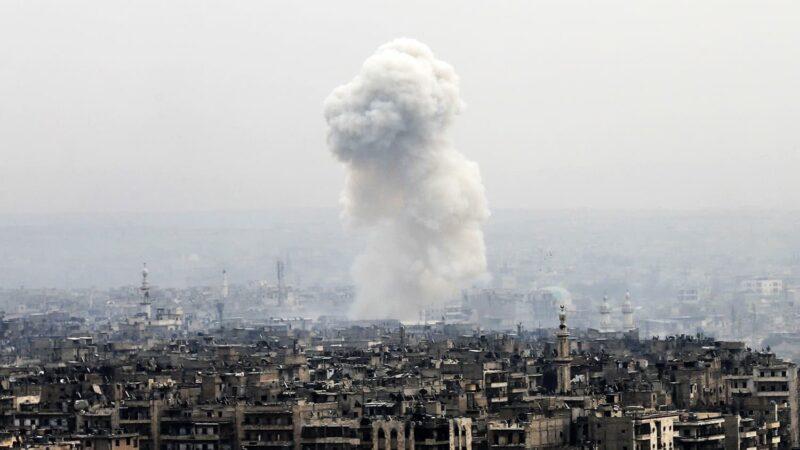 Unidentified planes target Iran-backed Iraqi militiamen in Syria