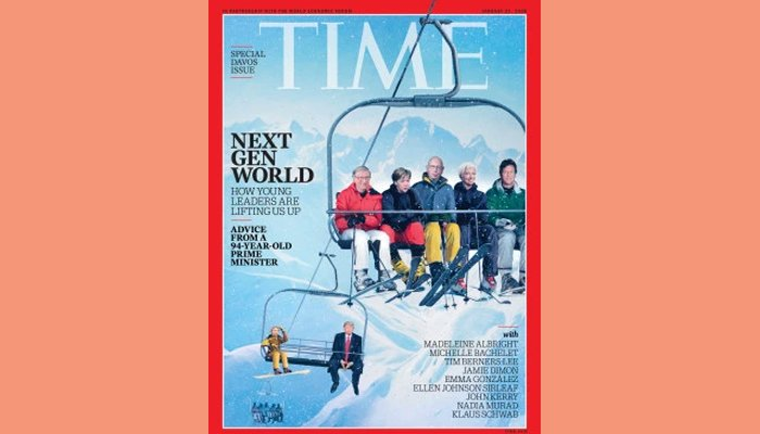 PM Imran Khan featured on cover of Time's Davos special edition