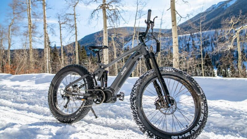 Jeep is Making an Off-road Electric Bike