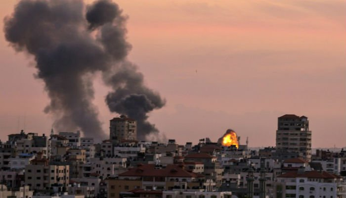 Israel targets Gaza after projectiles, explosive balloons